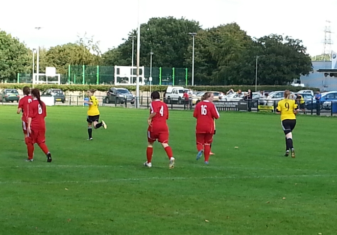 Action from Crawley Wasps v Aylesford Aug 31 2014