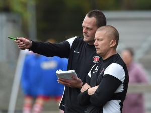 Jeremy Parsons and Stuart Weston in charge for Charlton Athletic against Gillingham, October 2014