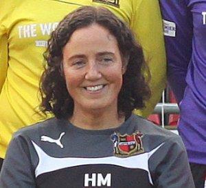 Helen Mitchell, manager of Sheffield FC (Photo: Ben Webster)